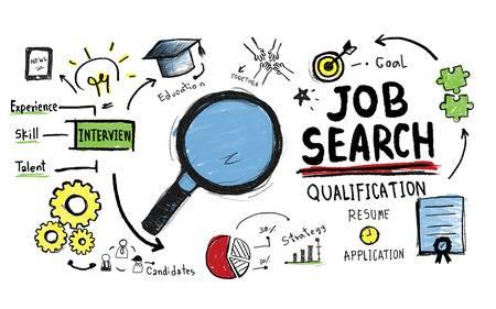 41319008-仕事検索資格検索アプリケーションの概念
